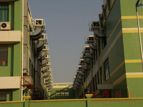 东莞某工厂安装工业中央空调工程图