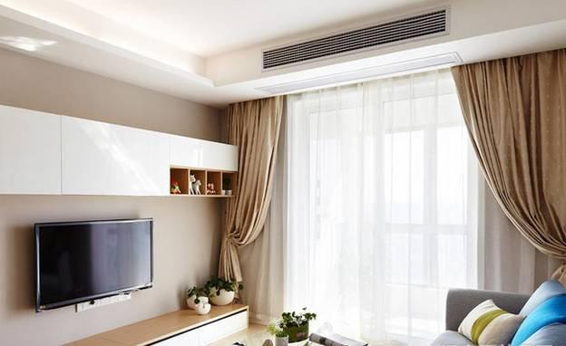 家用客厅中央空调怎么吊顶?尺寸多高?