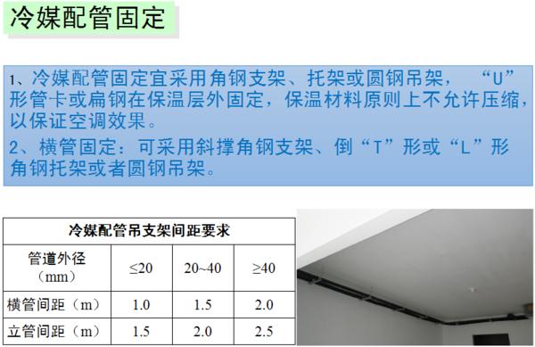 暖主道安装规范_中央空调的安装规范标准