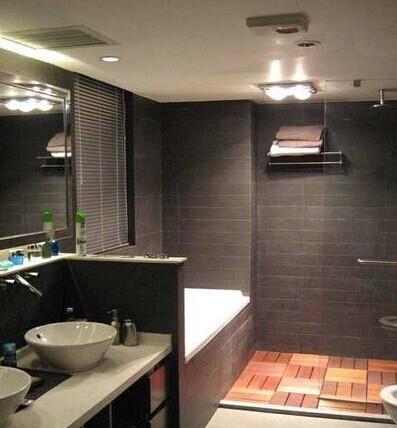 卫生间安装中央空调时