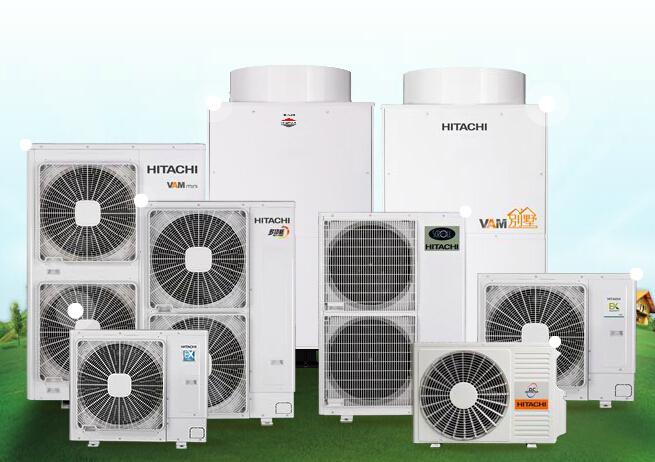 日立家用中央空调产品海报