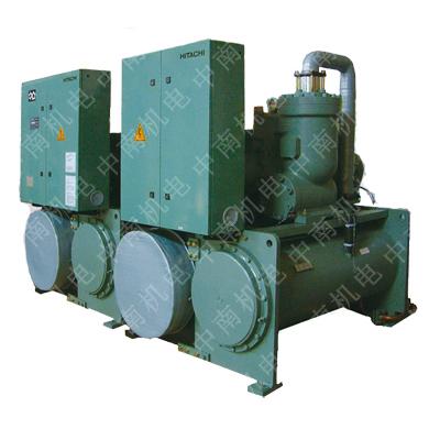 日立冷水机组h系列,日立螺杆式水冷冷水机组